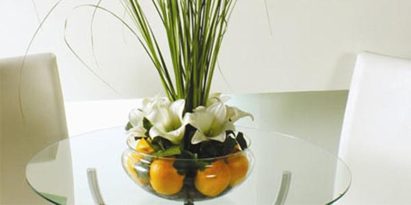 Como decorar centros de mesa -> Decoração De Frutas Para Mesa