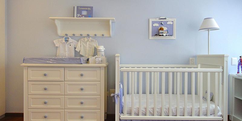 Decoração para quarto do bebê  Base Incorporação e Construção